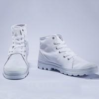历史新低:PALLADIUM PAMPA D3 Mid 男士帆布鞋 +凑单品