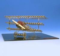 Aerobas 大型黃銅飛機拼裝模型 福克dr.1
