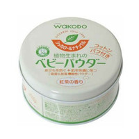 凑单品:Wakodo 和光堂 天然绿茶爽身粉 120g