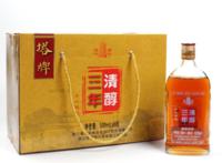塔牌绍兴黄酒清醇三年500ml*6瓶箱装手工花雕礼盒泡阿胶礼盒老酒