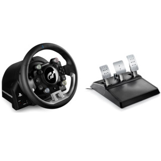 THRUSTMASTER T-GT 游戏方向盘+T3PGT 踏板 套装