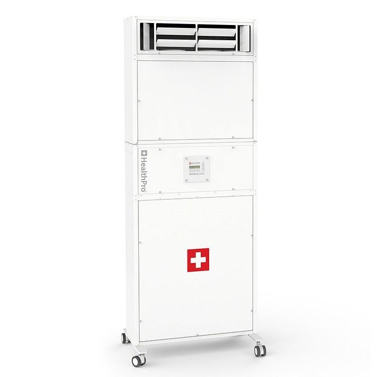 IQAir AURA CleanZone SL 客厅家用大型 空气净化器(带消音器)