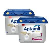 Aptamil 愛他美 白金版 嬰兒配方奶粉 1段 800g *2件
