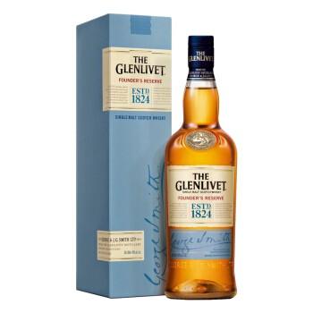 THE GLENLIVET 格兰威特 创始人甄选 单一麦芽威士忌 700ml