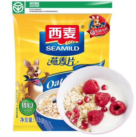 SEAMILD 西麦 即食燕麦片 1000g