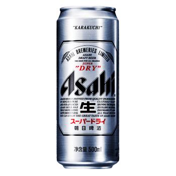 Asahi 朝日啤酒 生 小麦啤酒 500ml*1听