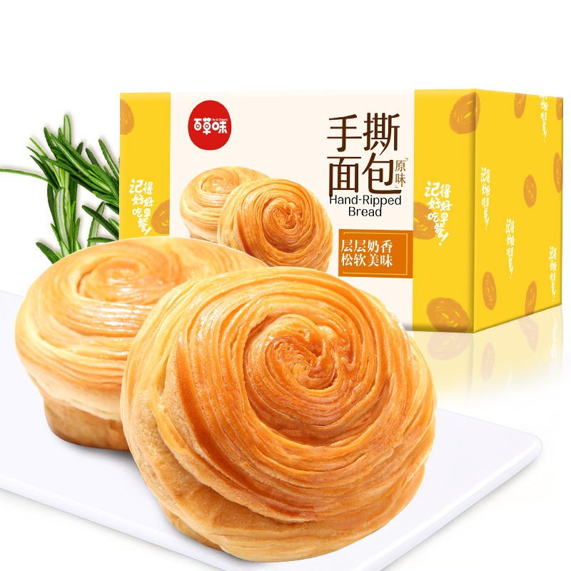 Be&Cheery 百草味 手撕面包 1kg/箱