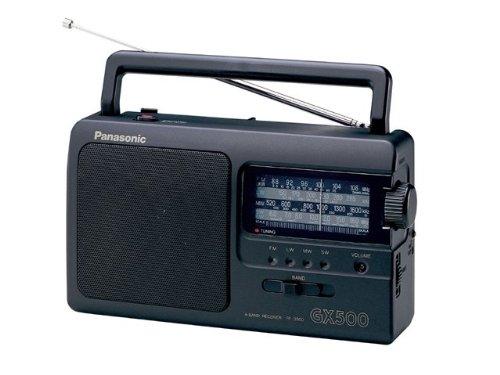 Panasonic 松下 RF-3500e9-K 便携式收音机