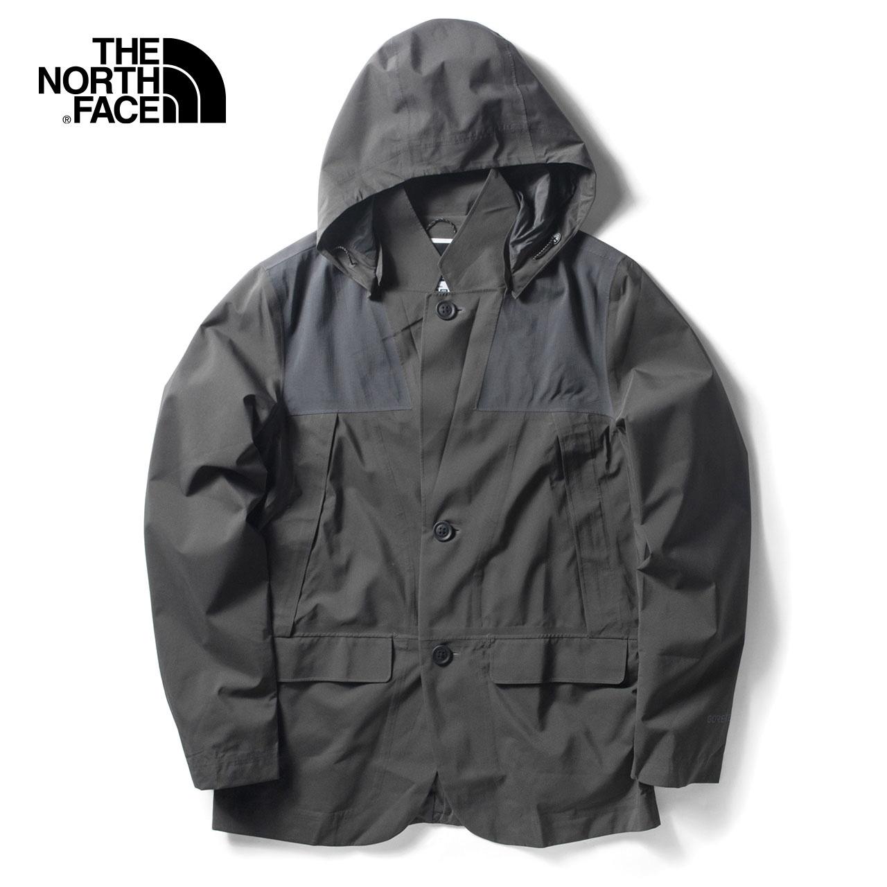 THE NORTH FACE UR系列 369D GTX防水透气 连帽 男士休闲西服