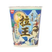 NISSIN 日清 拉王 东京海鲜豚骨风味 方便面 76g/杯 *41件