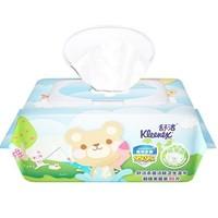 京东PLUS会员:Kleenex 舒洁 卡通洁肤卫生湿巾 80片(带盖) *14件