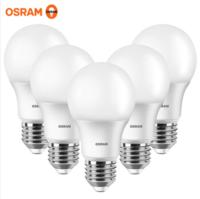 OSRAM 歐司朗 LED球泡 8.5W E27螺口 5只裝