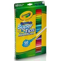 Crayola 绘儿乐 58-5050 50色可水洗细杆水笔