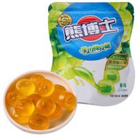 徐福记 熊博士 果肉橡皮糖 葡萄味 66g *23件