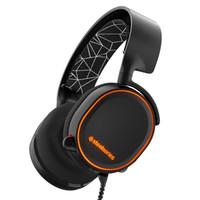 steelseries 赛睿 Arctis 寒冰 5 RGB 游戏耳机 黑色