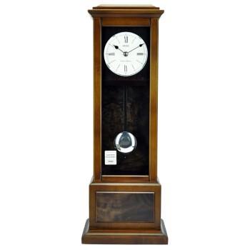 SEIKO 精工 QXQ026B 復古木質座鐘
