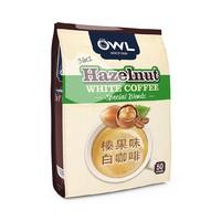 OWL 猫头鹰 三合一榛果味速溶白咖啡 1000g