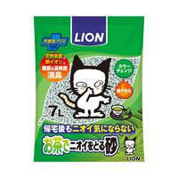 LION 艾宠 纸质变色结团猫砂 绿茶香 7L