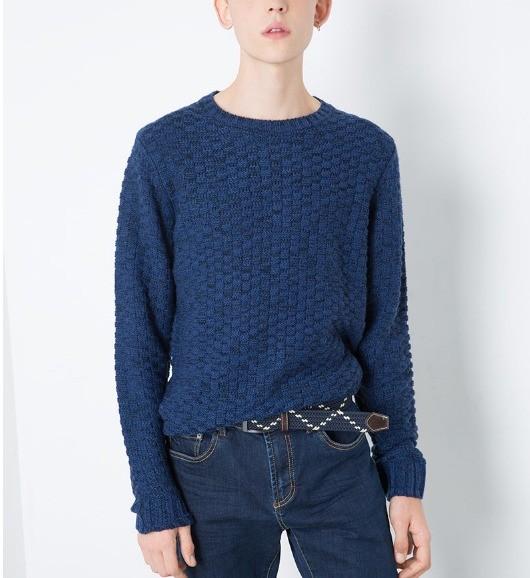 C&A 200184761 男士圆领针织衫