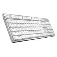 雷柏(Rapoo) MT700 機械鍵盤 無線鍵盤 背光鍵盤 白色 紅軸
