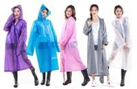 玛萱尼  男女通用长款雨衣 XL