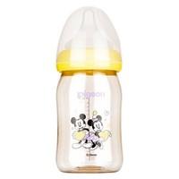 pigeon 贝亲 AA160   宽口径PPSU彩绘塑料奶瓶 160ml  配SS奶嘴