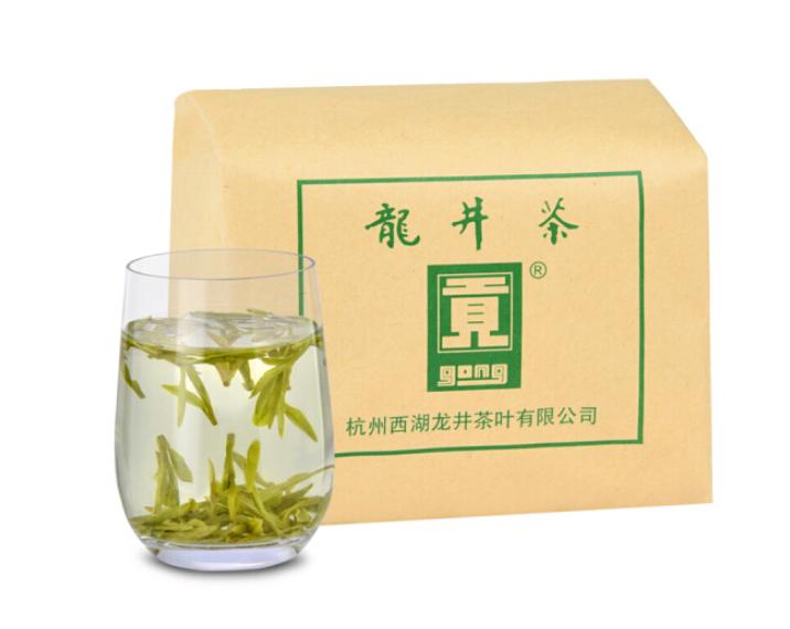 贡牌 明前特级龙井茶 传统牛皮纸装 200g
