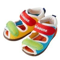 MIKI HOUSE 二段学步凉鞋 *3件