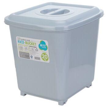 CHAHUA 茶花 带轮米桶 40斤