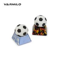 奇葩物:Varmilo 阿米洛 2018世界杯 金属足球键帽