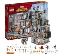 LEGO樂高 Super Heroes超級英雄系列 奇異博士至圣所大對決76108 *2件