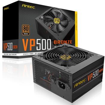 Antec 安钛克 VP500 铜 额定500W 电源
