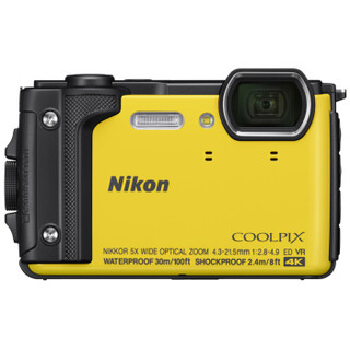 Nikon 尼康 COOLPIX W300s 数码相机 黄色