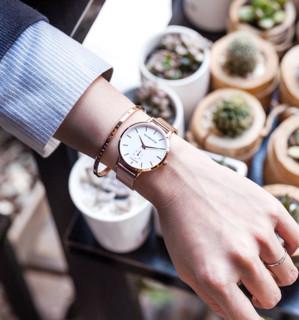 VICTORIA HYDE 维多利亚•海德 VH4002M 雅致系列 时尚网织带女士腕表