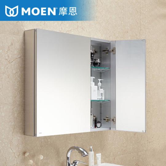 MOEN 摩恩 洛奇系列 BCM07-003BS 浴室镜柜 600mm