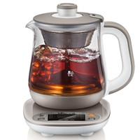 小熊(Bear)养生壶全自动玻璃加厚电热水壶煮茶器黑茶煮茶壶多功能 YSH-A08N5 0.8L