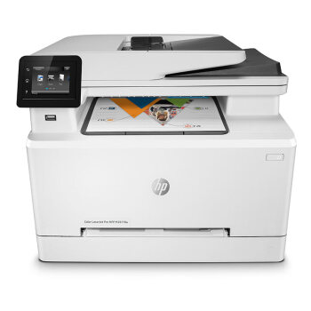 HP 惠普 M281fdw 彩色激光一体机 (彩色激光、家庭打印,照片打印,家庭办公,小型商用,大型办公,其他、打印 扫描 复印 传真、A4、有线,无线,有线&无线,USB,云打印,移动APP打印、双面打印、一体式硒鼓)