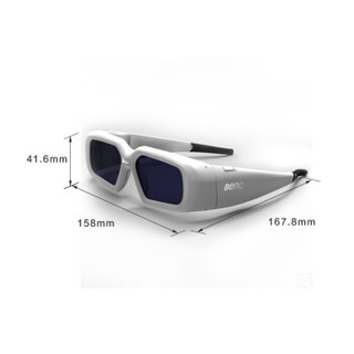 BenQ 明基 3D Active Glasses 主动式 3D眼镜 (3D眼镜)