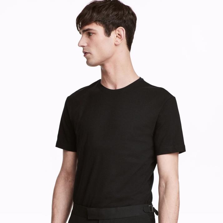 H&M HM0578630 男士圆领T恤 3件装