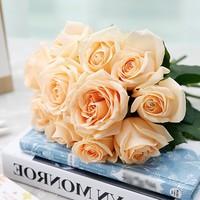 超级白菜、再降价 : 爱尚 玫瑰花束 鲜花速递 11枝