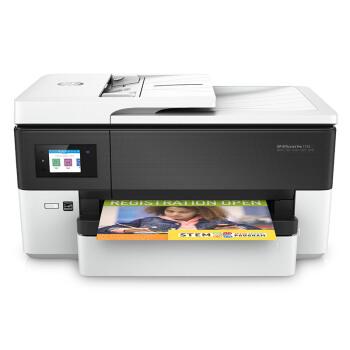 HP 惠普 惠商宽幅系列 7720 A3彩色喷墨一体机 (打印 扫描 复印 传真、A3、有线,无线,有线&无线,USB,云打印,移动APP打印、支持自动双面打印、墨盒、家庭打印,照片打印,家庭办公,小型商用,其他、喷墨)