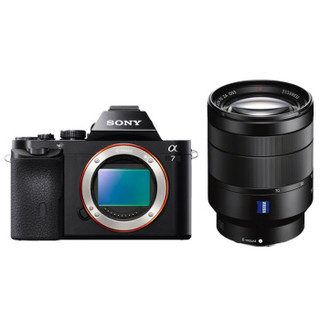 SONY 索尼 ILCE-7(FE 24-70mm f/4 ZA)无反相机套机 (全画幅、2430万)