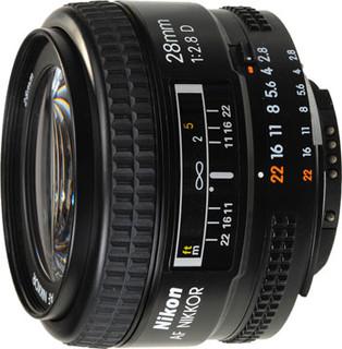 Nikon 尼康 AF 28mm F2.8 D 广角定焦镜头