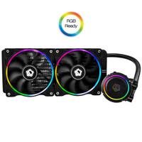 ID-COOLING CHROMAFLOW 240 ADD-RGB 一體式CPU水冷散熱器(多平臺、紅外燈效控制)