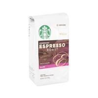 临期至11月:STARBUCKS 星巴克 意大利式烘烤浓咖啡豆 340g