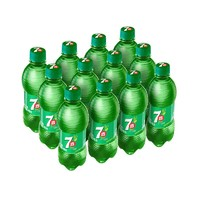 七喜可樂 7up 檸檬味 汽水 碳酸飲料 330ml*12瓶  百事可樂出品 *2件