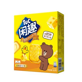Tuc 闲趣 夹心饼干 雪融芝士口味 160g