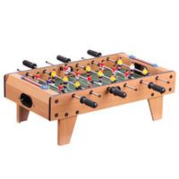 皇冠玩具( HUANGGUAN )升级6杆桌上足球台 木制桌面足球 儿童玩具小桌子 男孩玩具 儿童足球桌 游戏桌2135 *3件