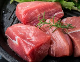 高金食品 庄园黑猪 切块精瘦肉 400g