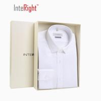 27日10點:INTERIGHT DP100 成衣免燙襯衫男士長袖 白色 40碼 *3件